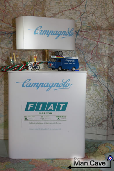 The D.W Pro cyclist inspired lamp